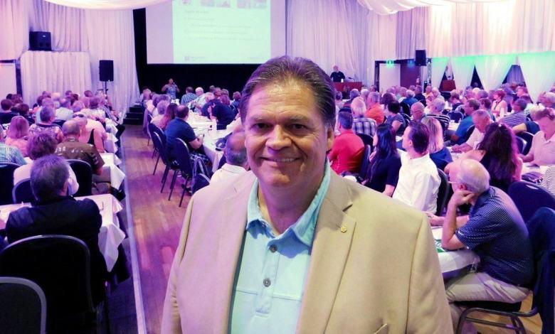 Daniel Veilleux, président de la Desjardins Bank.