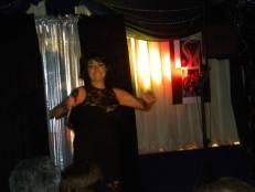 Chantal sur scène