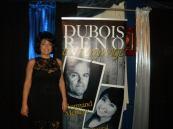 Chantal et l'affiche Dubois-Renaude