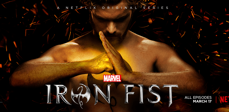 Marvel Iron Fist Série sur Netflix