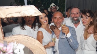 Photo de Miami Beach : La Villa Azur a fêté ses 5 ans tout en blanc !