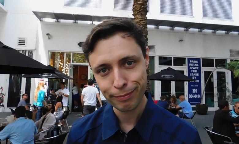 Benoît Duverneuil, porte-parole du mouvement En Marche (Emmanuel Macron) pour les expatriés en Floride