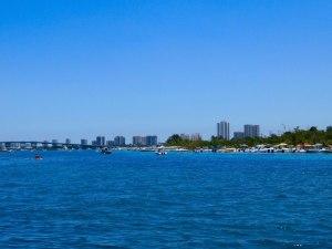 L'île de Peanut Island et le Blue Heron Bridge (à West Palm Beach en Floride)