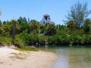 Lagon de Peanut Island (à West Palm Beach en Floride)