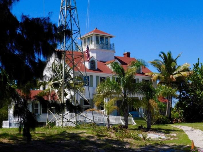 Maritime Museum dans la maison des garde-côtes, sur l'île de Peanut Island en Floride.