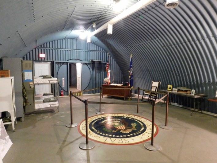 Abri atomique de John Kennedy sur Peanut Island (West Palm Beach en Floride)