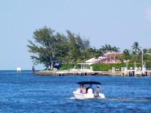 L'île de Palm Beach en Floride.