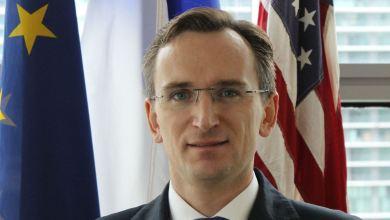 Photo de Mot d'accueil du consul de France, Clément Leclerc, aux nouveaux arrivants en Floride
