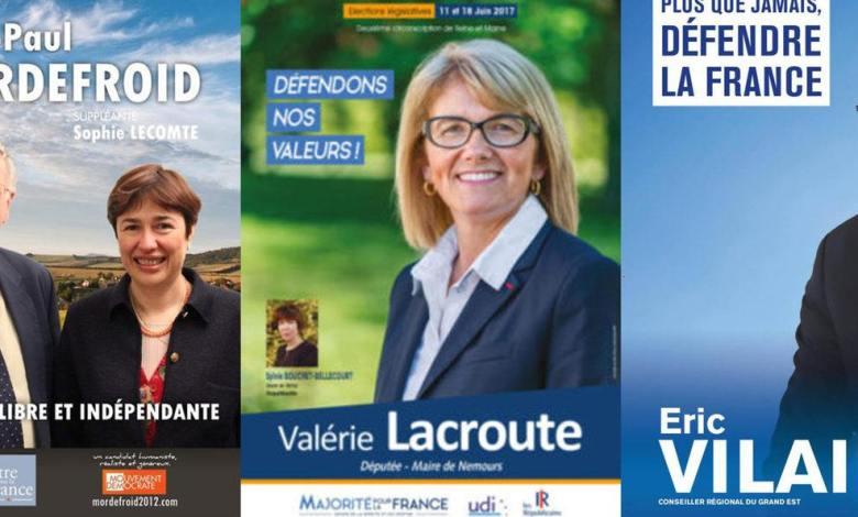 Ces candidats aux élections en France qui portent un nom amusant