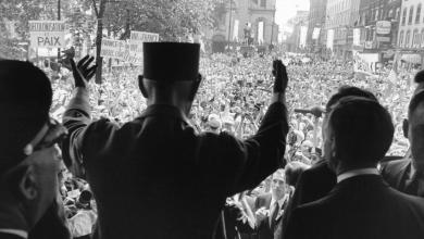 """De Gaulle le 24 juillet 1967 à Montréal : """"Vive le Québec Libre"""""""