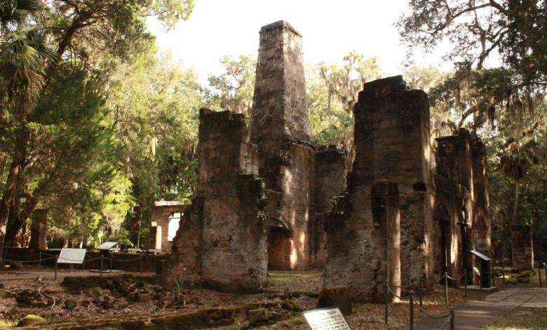 Ruines et sites insolites en Floride