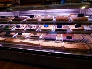Les pâtisseries de Der Dutchman, le célèbre restaurant amish du quartier de Pinecraft à Sarasota.