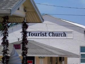 Eglise dans le quartier amish de Pinecraft, à Sarasota.