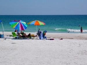 Plage d'Anna Maria Island (Floride)