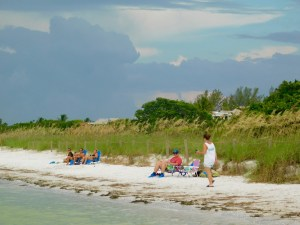 Plage de Sanibel Island Lighthouse Beach Park (Floride)