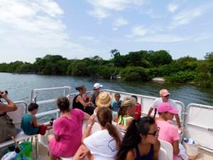 Ferry pour l'Île de Cayo Costa (entre Captiva et Boca Grande, dans le comté de Lee en Floride)