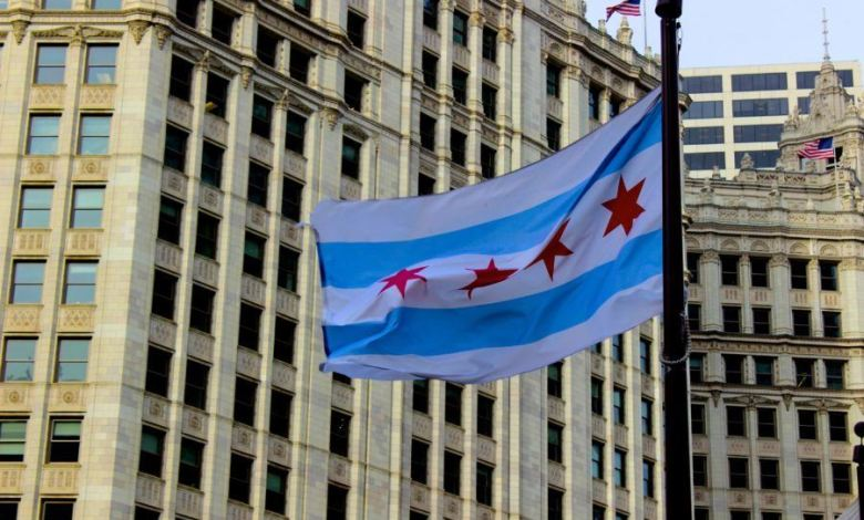 Drapeau de Chicago