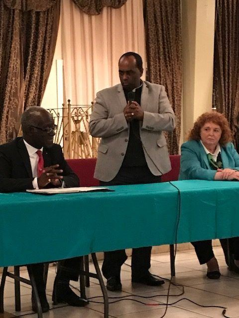 Rencontre avec des leaders communautaires Haïtiens