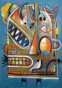 L'artiste contemporain fançais Niark expose à Tampa