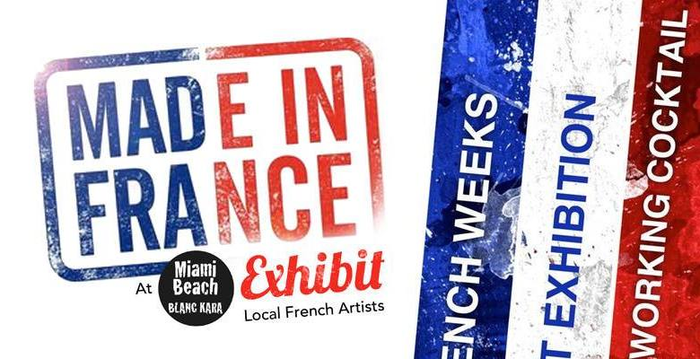 Expo Made in France 2017 à Miami Beach : les artistes français