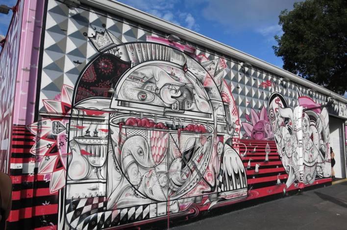 Art mural Wynwood - Miami