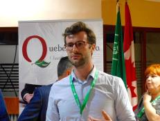 """Jean-Philippe Saurat (comptables """"Massat, Saurat + Guimond Lavallée) au cocktail de la mission commerciale Québec-Floride 2017"""