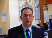 Guy Lafortune, PDG de G.T.W (systèmes de filtres et de refroidissement de l'eau) au cocktail de la mission commerciale Québec-Floride 2017