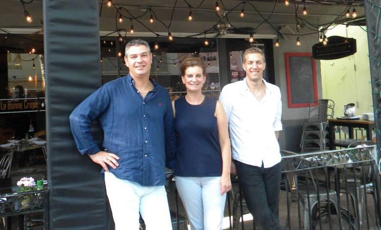 La Bonne Crêpe, restaurant français sur Las Olas, à Fort Lauderdale en Floride