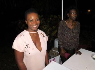Odile, qui confectionne les délicieuses pâtisseries de Gourmet Temptations à Surfside (Miami Beach)