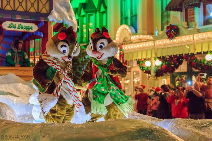 Noël à Disney avec Tic et Tac