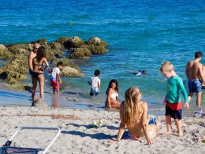 Plage de Red Reef à Boca Raton