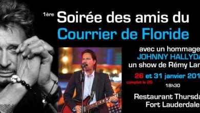 Photo of 2 concerts hommages à Johnny Hallyday à Fort Lauderdale (et soirées des amis du Courrier de Floride)
