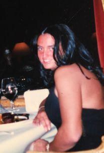 Milena Di Maulo au restaurant Martha's de Ft Lauderdale