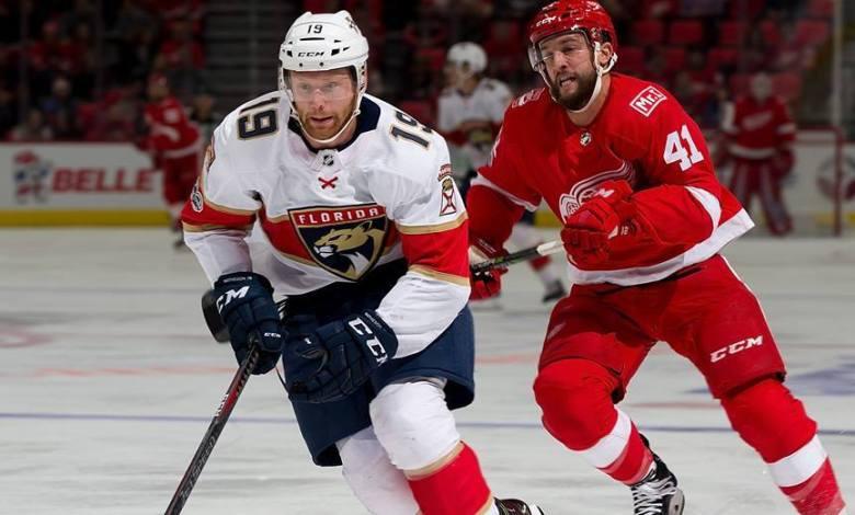 Mike Matheson, défensur québécois des Florida Panthers