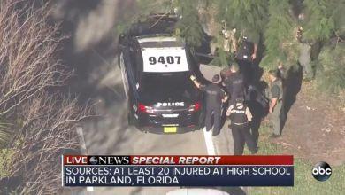 Photo of 17 morts et 13 blessés après une fusillade dans une école de Parkland, près de Fort Lauderdale en Floride
