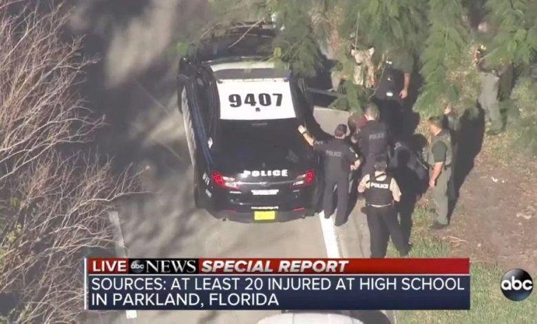 Massacre de mass shooting dans une école de Parkland en Floride