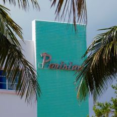 Parisian Motel (hôtel art déco) à South Beach / Miami Beach