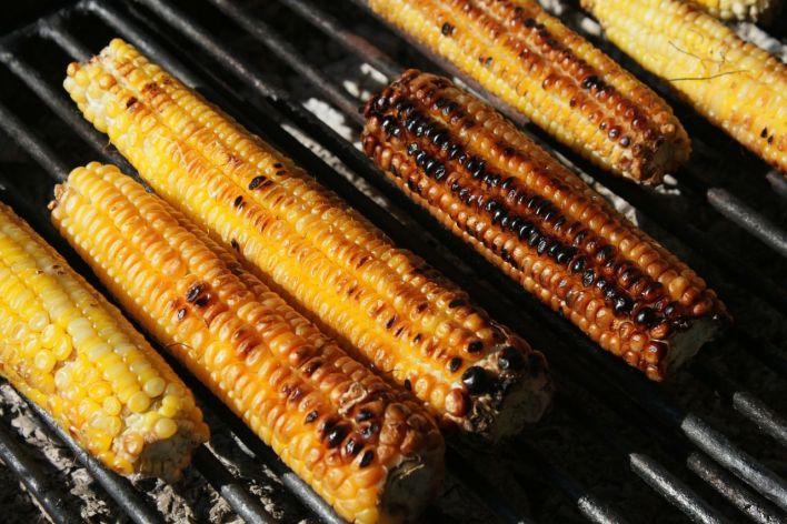 Epis de maïs au BBQ
