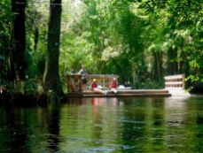 Portage sur la Loxahatchee River (Floride)