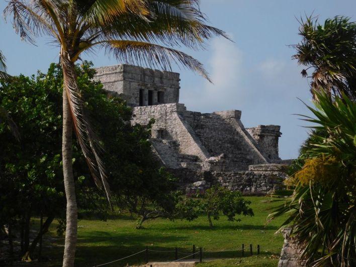Les ruines de Tulum au Mexique