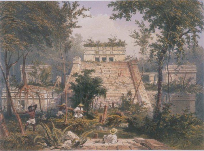 Tulum, par Catherwood en 1844.
