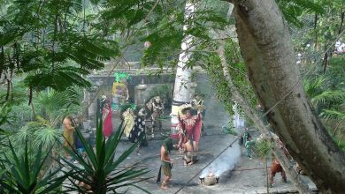 Parc d'attractions de X-Caret à Playa del Carmen (sur la Riviera Maya du Mexique)