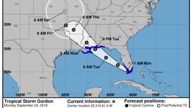 Photo de Sud Floride : des tempêtes tropicales en approche