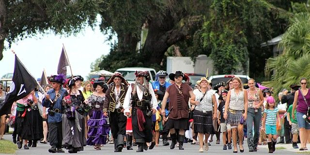 Cedar Key Pirate Invasion