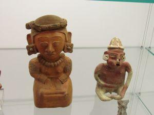 Sculptures précolombiennes au Boca Raton Museum of Art