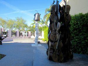 Jardin de Sculptures au Boca Raton Museum of Art