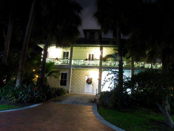 Les lumières de Noël au bord de la New River à Fort Lauderdale
