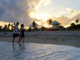 Coucher de soleil sur Delray Beach.