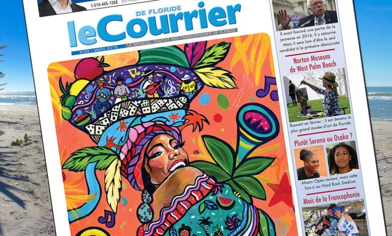 Couverture du Courrier de Floride N°68 : Mars 2019