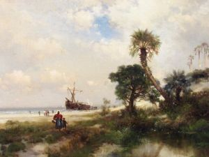 Florida Scene, par Thomas Moran en 1878, au Norton Museum of Art de West Palm Beach, en Floride